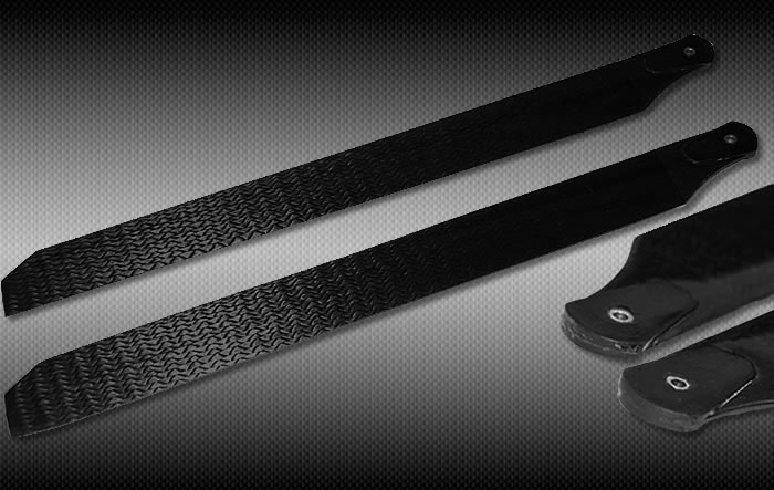 325mm Carbon Fiber blade for Blade 400 RC Helicopter