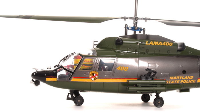 2 4ghz Walkera Lama 400 4ch Us Cnc Rc Electric Helicopter