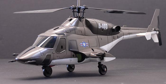 Walkera 5#4Q3 Black Air Wolf RTF Remote Conrol 4 Channel RC Helicopter 2.4Ghz | eBay