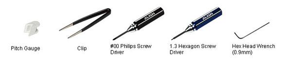 Trex 250 Tools