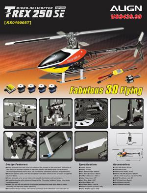 Trex 250SE Flyer