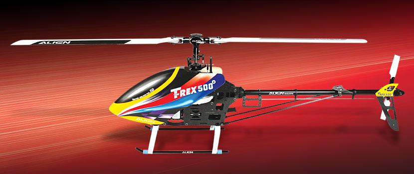 KX017012 T-Rex 500 ESP 3G Flybarless Combo