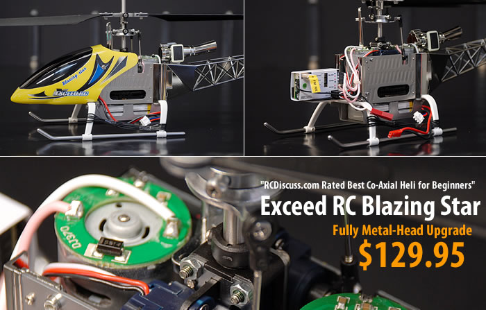 Easy to Fly Co-Axial RC Helicopter