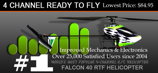 Falcon 40 RC Helicopter