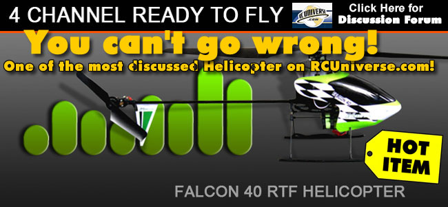 Falcon 40 - Hottest RC Helicopter