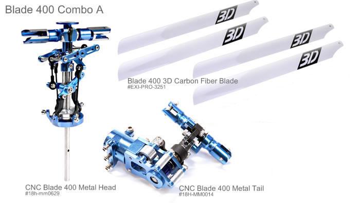 Blade 400 CNC Upgrades