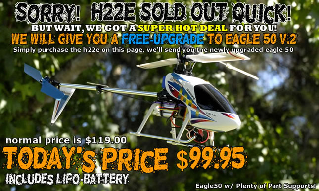 Walkera H22E DragonFly RC Helicopter