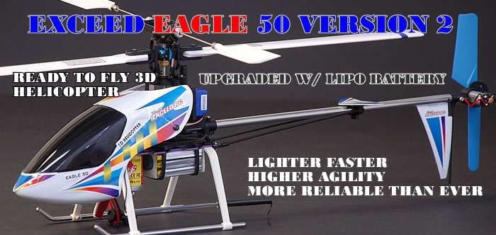 Eagle 50 6-Channel RC Heli RTF