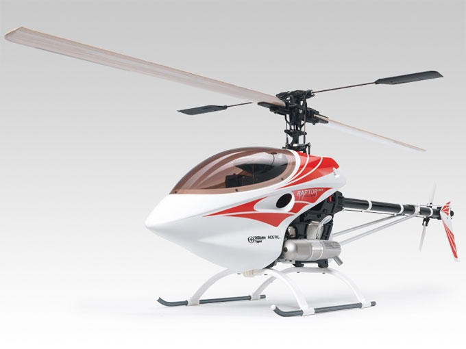 2.4GHz Thunder Tiger Raptor 30 RC Helicopter V2 Super ...