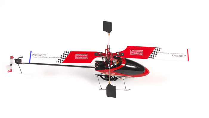 Walkera 4G3 Brushless Metal RC Helicopter w/ 2801 Transmitter